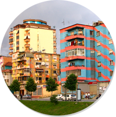 Tirana city break