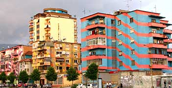 Tirana city break tour