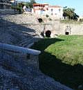 durres amphitheater, albania