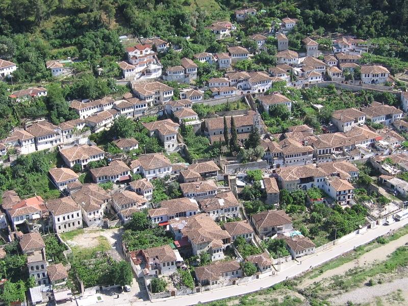 Besuchen Sie Berat Albanien