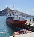 Saranda port Albania