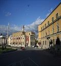 Tirana government buildings