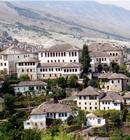 Gjirokastra City in Albania
