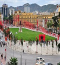 Skanderbeg Square Tirana Albania