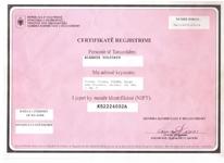 Albania Holidays Tax registration number