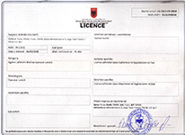 Tour Operating Licence