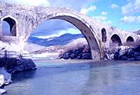 Mesi Bridge, Shkodra, Albania